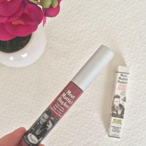 theBalm Meet Matt(e) Hughes Long Lasting Liquid Lipstick in 'Charming'