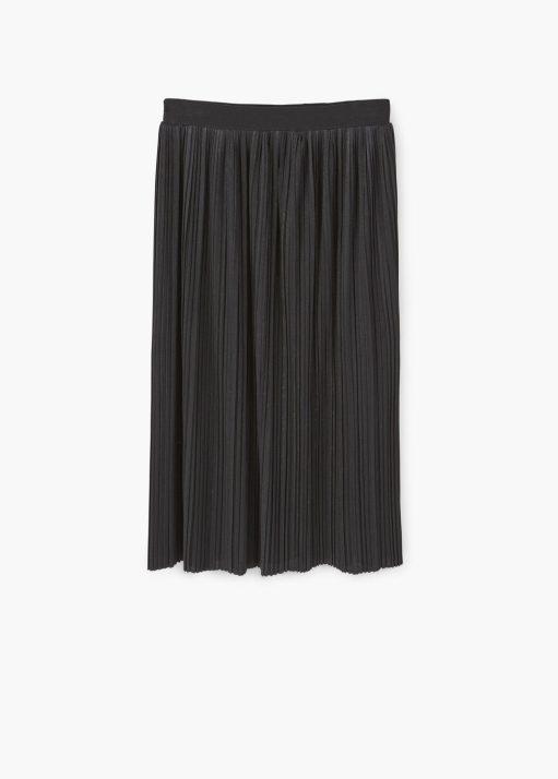 Black Midi Skirt, Mango *