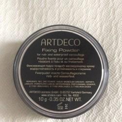 Fixing Powder, Artdeco
