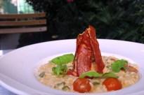 Risoto de Legumes com Presunto Parma - Santo Grão
