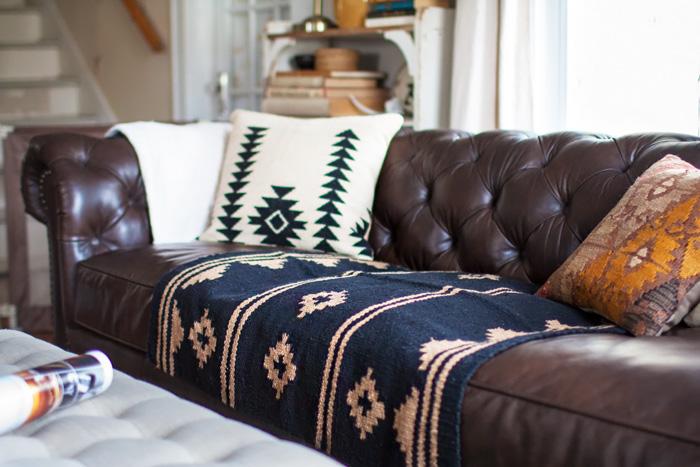 Phenomenal Living Room Redo With A New Leather Sofa Alice Wingerden Short Links Chair Design For Home Short Linksinfo