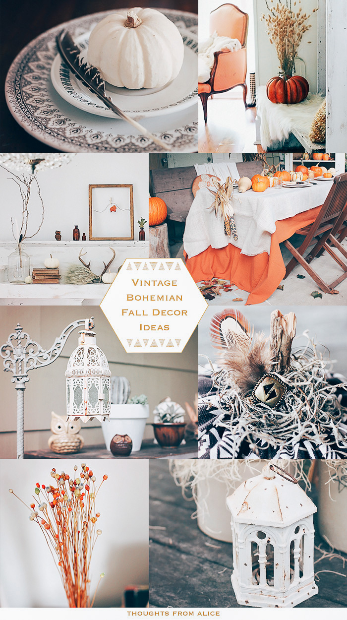 Vintage Bohemian Fall Decor Ideas Alice Wingerden
