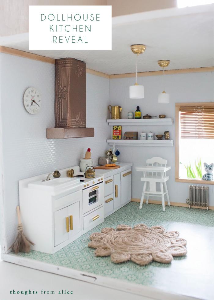 Dollhouse Kitchen Reveal Alice Wingerden