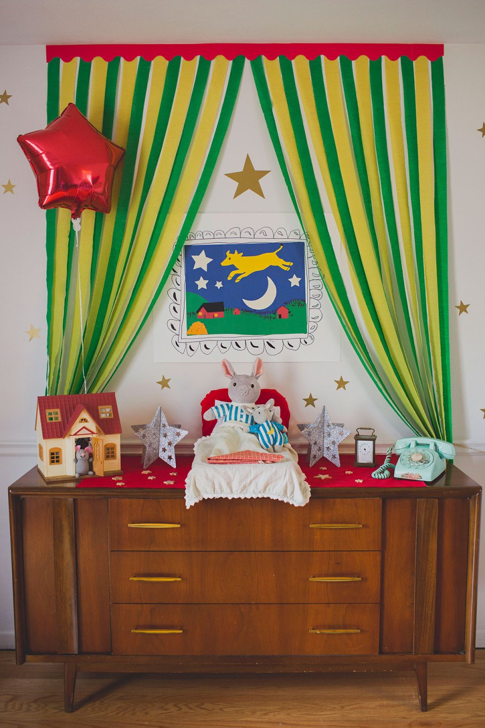 Violet S Goodnight Moon Birthday Party Alice Wingerden