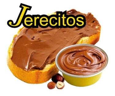 crema de cacao con avellanas en monodosis Jerecitos