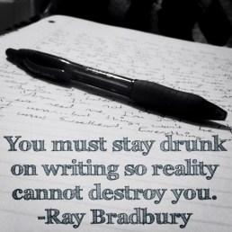 writing drunk