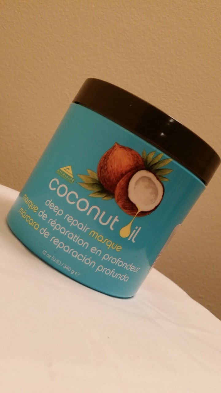 Coconut Oil Deep Repair Masque Review