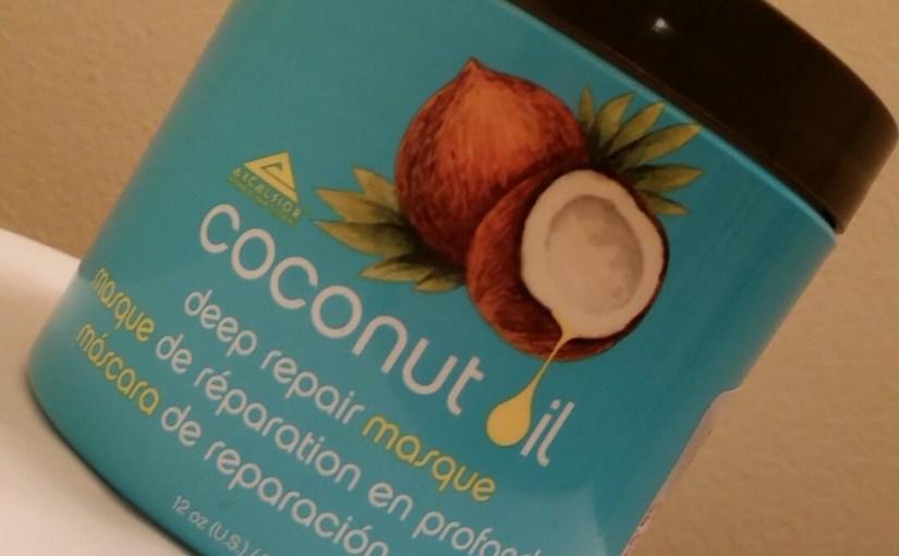 Coconut Oil Deep Repair Masque Review