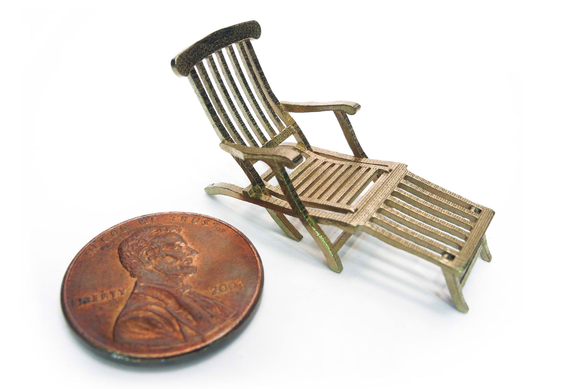 Titanic Deck Chair 3d Printing Is Creating A New Arts Economy The New Stack