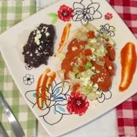 Enchiladas potosinas y ¡¡¡Viva México!!!