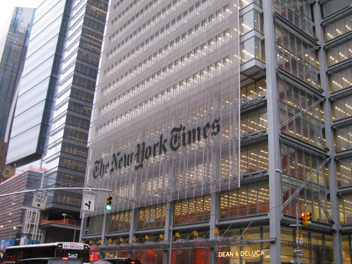 The New York Times 2009