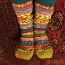 靴下の繕い