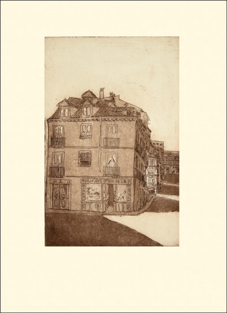 Una casa en la calle de Pelayos
