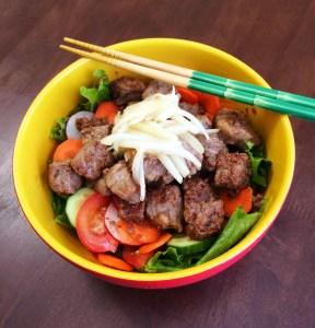 Vietnamese Shaking Beef Salad
