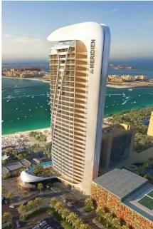 Le Meridien Hotel Expansion Dubai Aluminium And Light