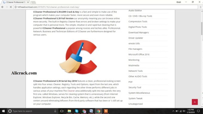 CCleaner Pro 5.40 Crack With Serial Key Free Download