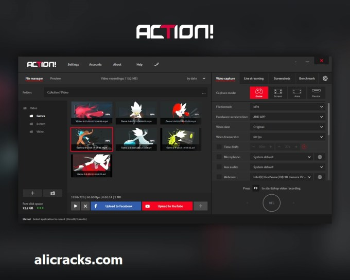 Mirillis Action 3.1.2 Crack & Serial Key Free Download