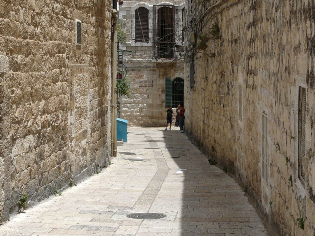 Visit of Old City of Jerusalem  Jaffa Gate David Street