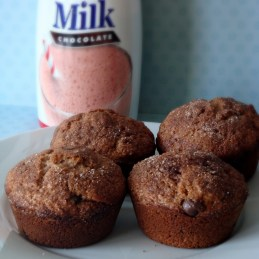 chocolate malt muffins