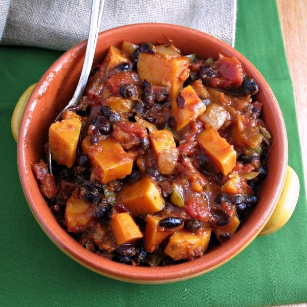 Sweet Potato Black Bean Chili from Alida's Kitchen