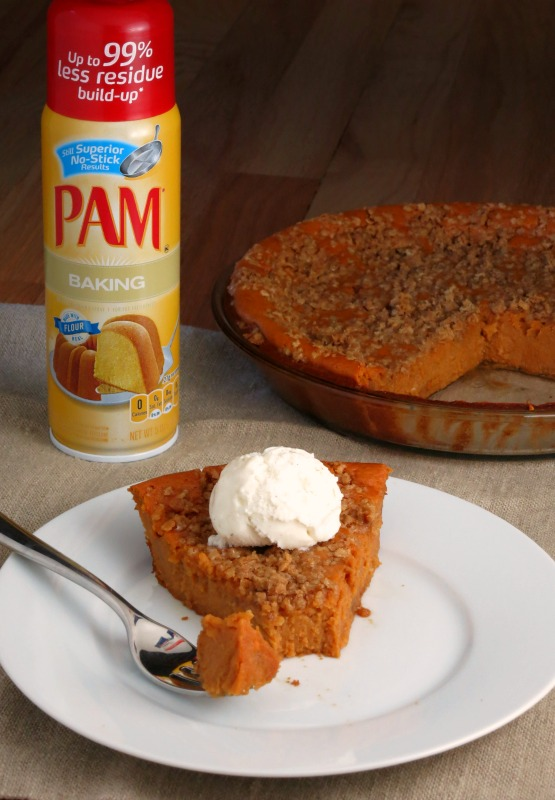 Crustless Sweet Potato Pie