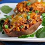 Southwestern Stuffed Sweet Potatoes | alidaskitchen.com