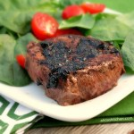 Balsamic Glazed Filet Mignon #WeekdaySupper
