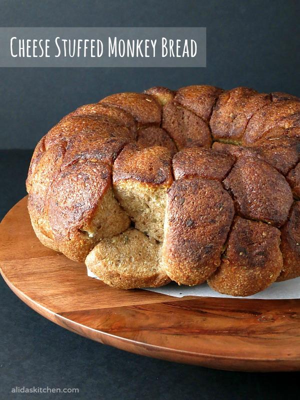 Cheese Stuffed Monkey Bread   alidaskitchen.com