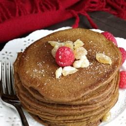 Gingerbread Pancakes | alidaskitchen.com