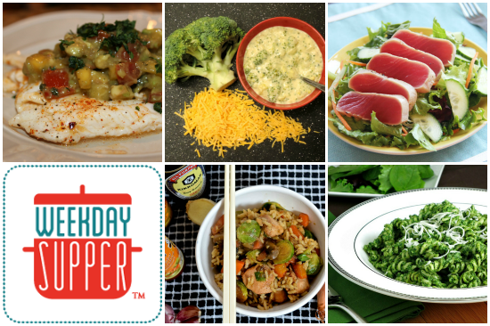 Weekday Supper 1.19 thru 1.23