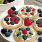Sugar Cookie Fruit Tarts #SundaySupper