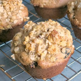 An easy recipe for Fig Buttermilk Muffins | alidaskitchen.com