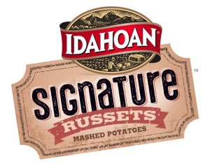 Idahoan Signature Russets Mashed Potatoes logo