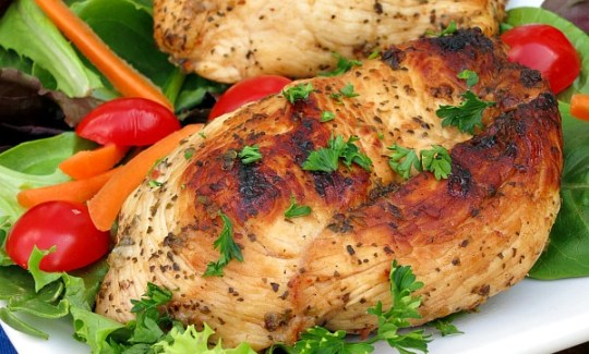 Easy Herb Grilled Chicken