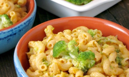 Broccoli Cheddar Mac and Cheese