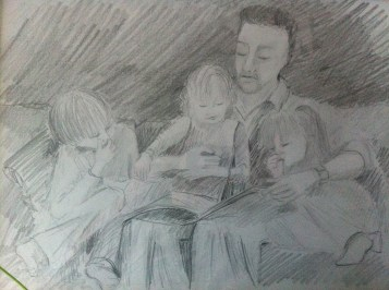 Story time with Mark, Lottie, Leon and Frida