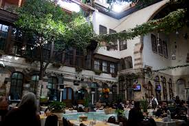 Jabri House Courtyard in Damascus, Syria
