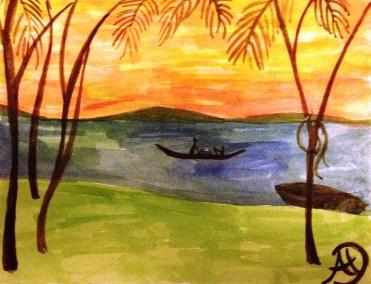 Dawn at Lake Victoria, Mwanza