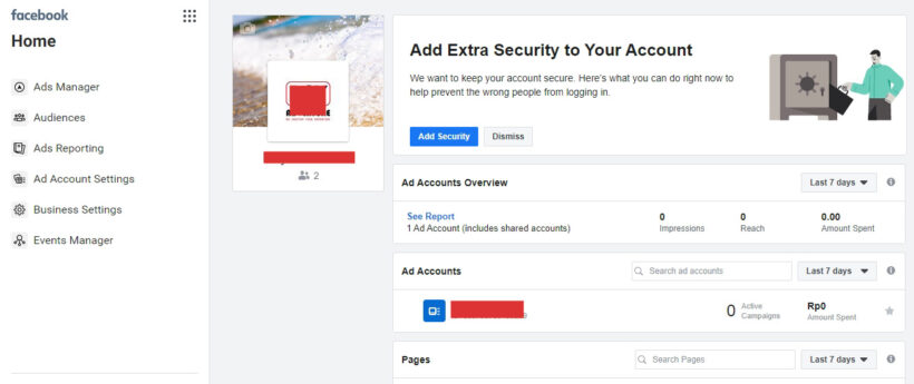 Business Manager Facebook Ads