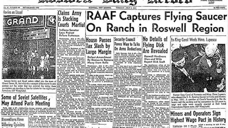 Roswell UFO Controversy: Former Air Force Officer Says Gen. Ramey Lied to Cover Up Space Ship Crash 1