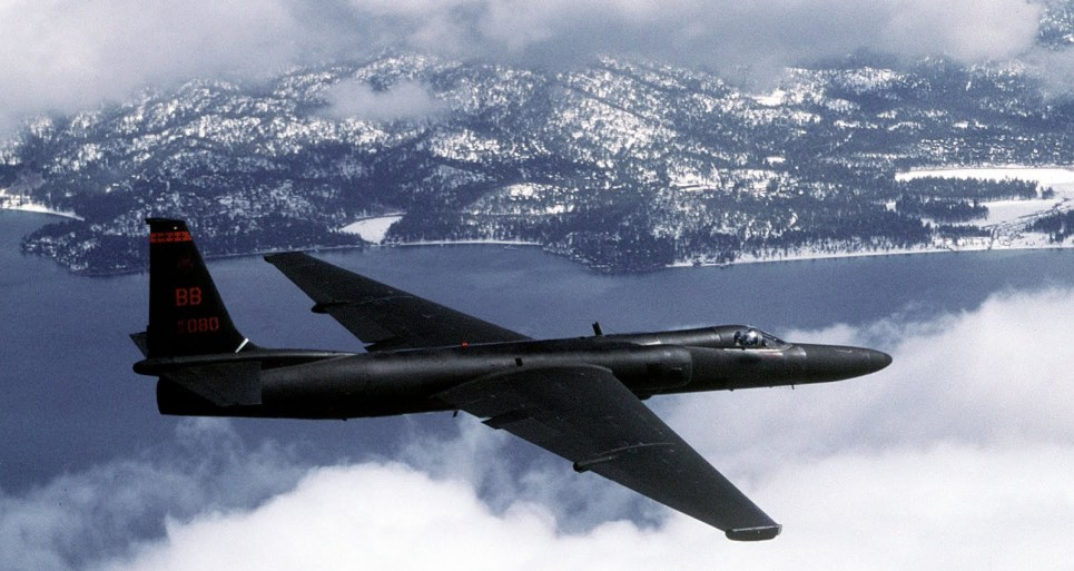 U-2 Dragon Lady Spy Aircraft