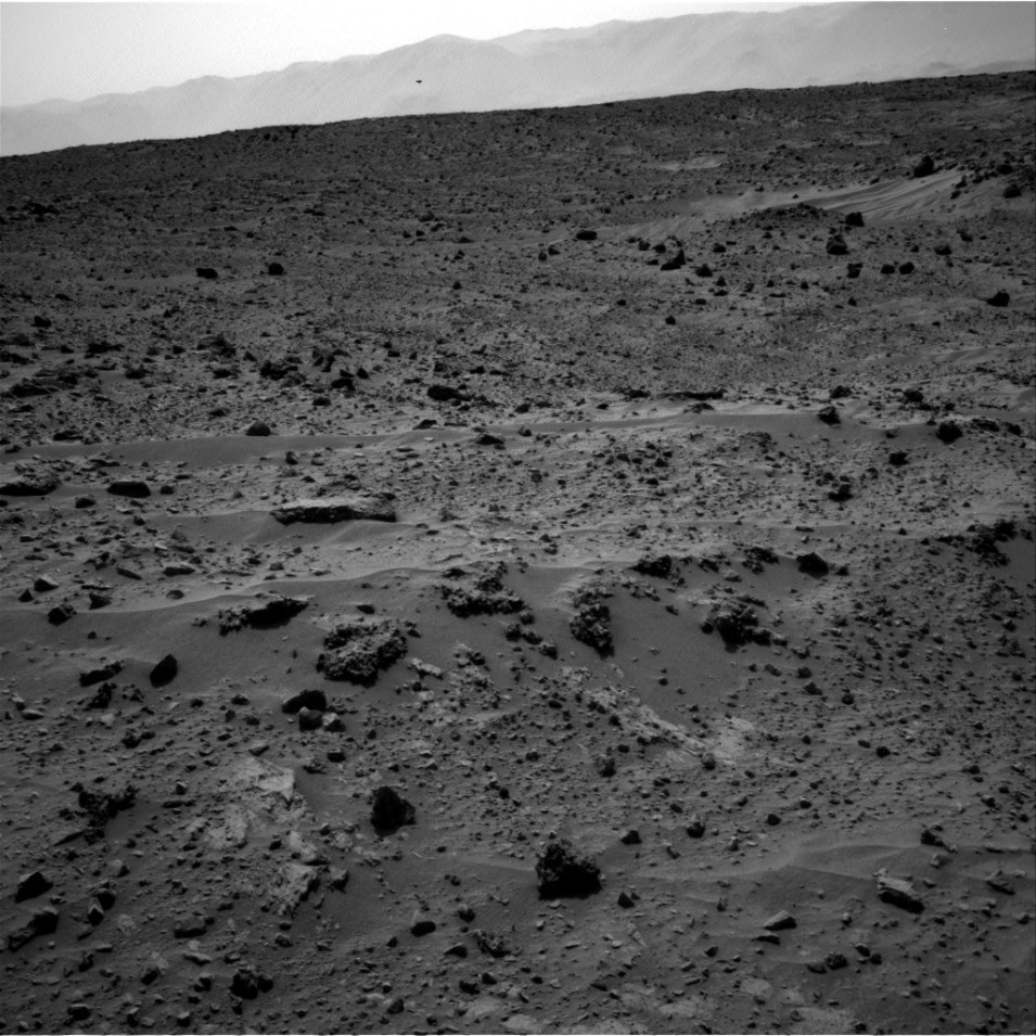 Mars Curiosity Photographed UFO On Mars