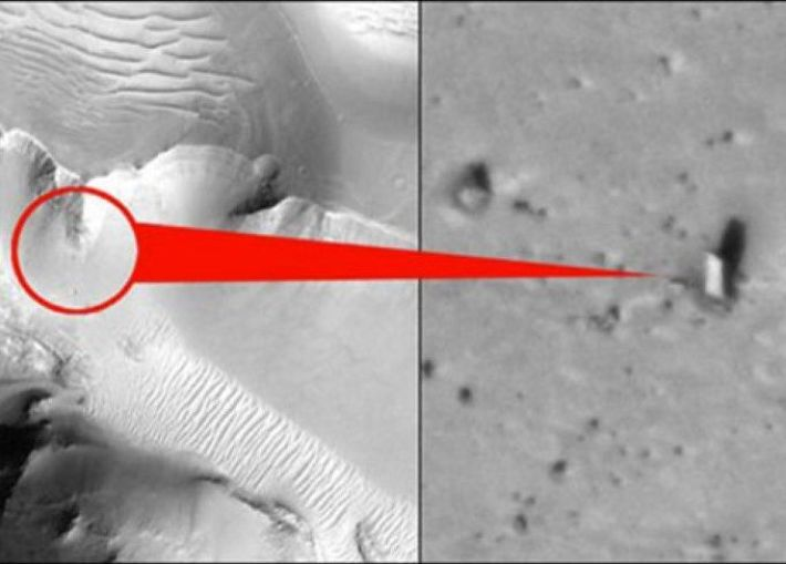 5 Bizarre Things Spotted on Mars