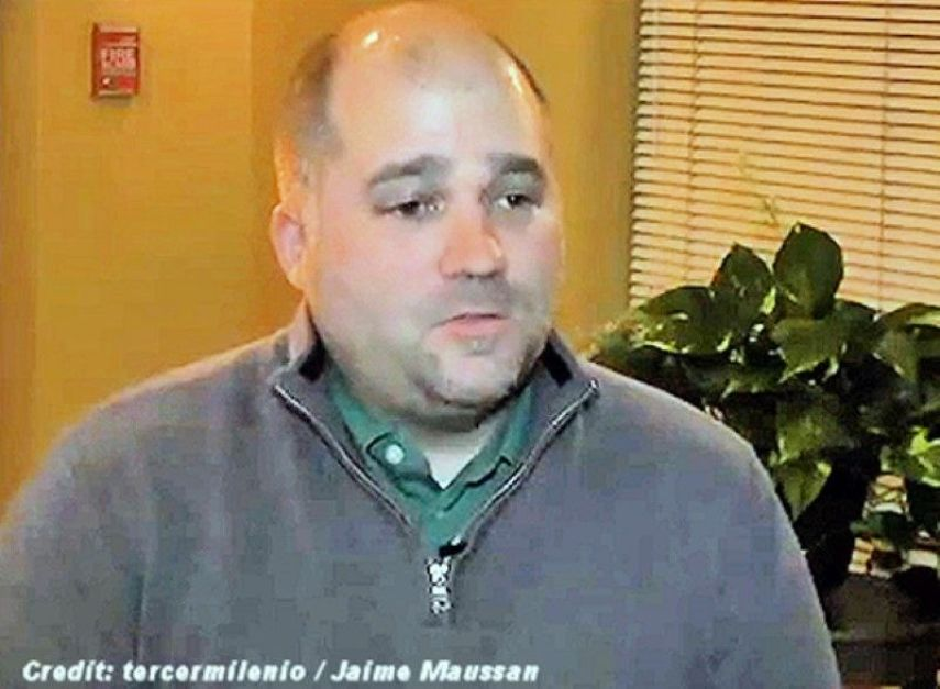 Screen capture from the YouTube video interview of Adam Dew. The video has been removed from YouTube. (Credit: Tercermilenio/Jaime Maussan/UFO Chronicles)