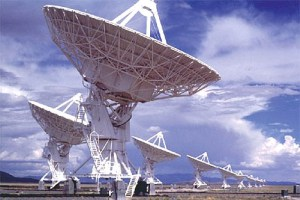 SETI's Alien Telescope Array (ATA) listens day and night for a signal from space. Credit: SETI