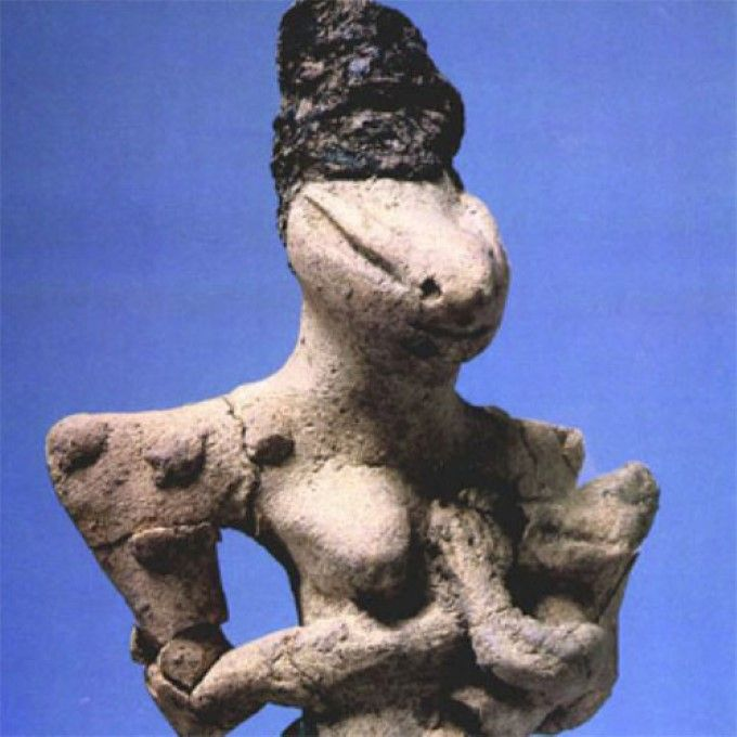 Reptilian Worship: The 7,000-Year-Old Ubaid Lizardmen Statuettes