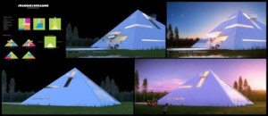 Pyramid Shaped House Makes You Feel Like An Ancient Egyptian Emperor 3