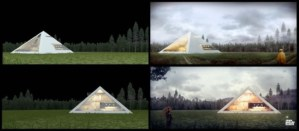Pyramid Shaped House Makes You Feel Like An Ancient Egyptian Emperor 4