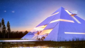 Pyramid Shaped House Makes You Feel Like An Ancient Egyptian Emperor 5