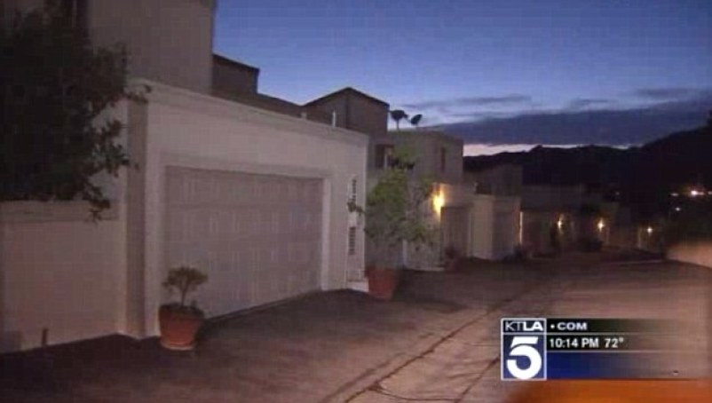 Scene: The man was linked to a home in Pacific Palisades, where his fiancee lives